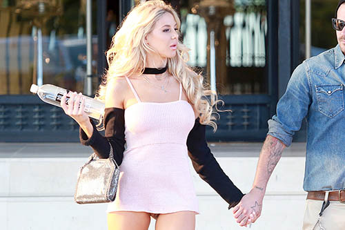 Exclusive... 52083522 Sean Stewart takes a romantic stroll with his possible new girlfriend Playmate Daisy Lea. A couple weeks ago, the duo were spotted doing a 138 Water photoshoot on the beach in Malibu. Its been little over a year since Sean broke up with former girlfriend RHOB Adrienne Maloof.The pair were spotted shopping on Rodeo Drive after leaving the Face Bar on Robertson and before stopping by Barney's New York in Beverly Hills where Daisy suffered a Wardrobe Malfunction and flashed her vagina as she appeared not to wear any underwear ... Sean Stewart takes a romantic stroll with his possible new girlfriend Playmate Daisy Lea. A couple weeks ago, the duo were spotted doing a 138 Water photoshoot on the beach in Malibu. Its been little over a year since Sean broke up with former girlfriend RHOB Adrienne Maloof.The pair were spotted shopping on Rodeo Drive after leaving the Face Bar on Robertson and before stopping by Barney's New York in Beverly Hills where Daisy suffered a Wardrobe Malfunction and flashed her vagina as she appeared not to wear any underwear ... ***NO WEB USE W/O PRIOR AGREEMENT - CALL FOR PRICING*** FameFlynet, Inc - Beverly Hills, CA, USA - +1 (310) 505-9876