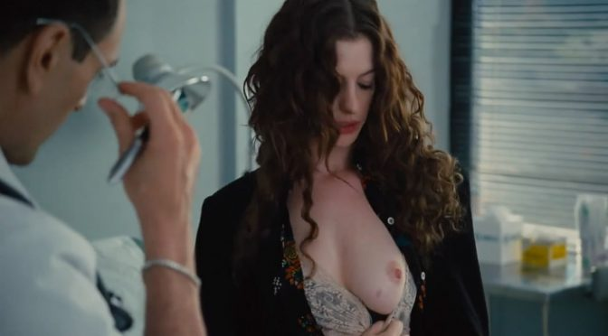 American actress Anne Hathaway leaked NUDES